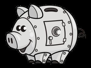Piggy SAFE Piggy Bank